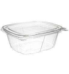 Envase Inviolable de Plástico PET Tapa Plana 355ml (200 Uds)
