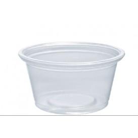 Tarrina de Plastico PP para Salsas 25ml Ø48mm (2500 Uds)