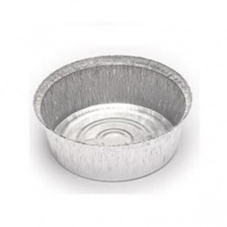 Envases Aluminio Redondo para Pollo 1900ml (Caja 500Uds)