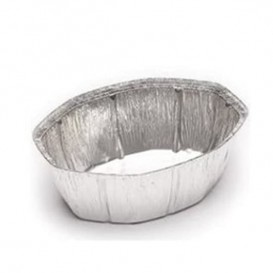 Envase de Aluminio Ovalado para Pollos 2400ml (125 Uds)