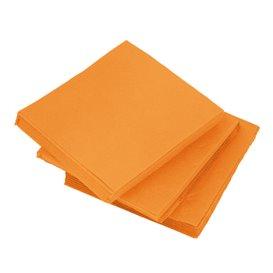 Servilleta de Papel Micropunto 20x20cm Naranja (100 Uds)