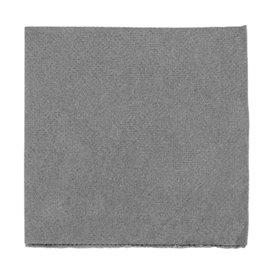 Servilleta de Papel Micropunto 20x20cm Gris (100 Uds)