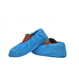 Cubrezapatos en Polietileno G80 Azul (100 Uds)