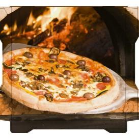 Cajas para Pizza Al Bassanello Pala 33x33x4,2 cm (100 Uds)