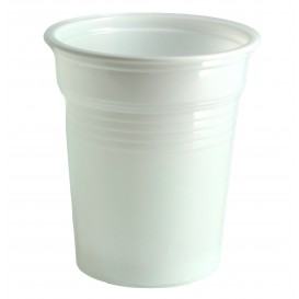 Vaso de Plastico PS Blanco 100ml Ø5,7cm (100 Uds)