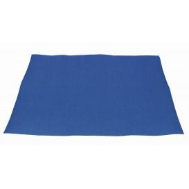 Mantel Individual de Papel 30x40cm Azul 40g (1.000 Uds)