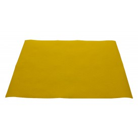 Mantelito de papel 300x400mm 40g Amarillo (1.000 Uds)