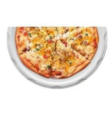 Plato de Plastico para Pizza Blanco 280mm (400 Uds)