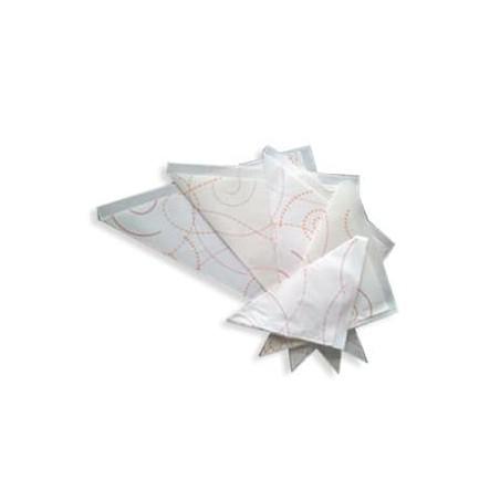 Cono de Papel para Fritos 24,5x25x34,5 cm (1000 uds)