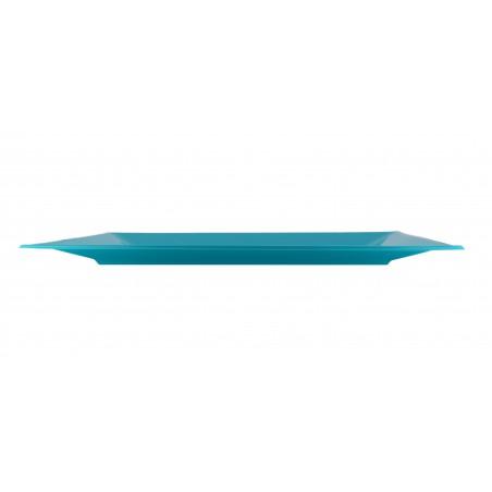 Bandeja de Plastico Turquesa 330x225mm (180 Uds)