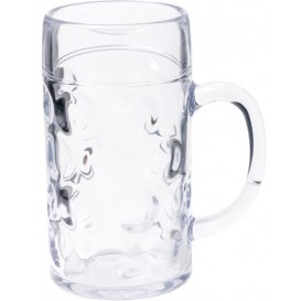 Jarra Reutilizable SAN para Cerveza Ø105mm 1000ml (6 Uds)