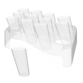 Conos Clear 75ml con Stand 180x260 mm (5 Kits)