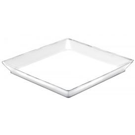 Bandeja Degustación Medium Blanco 13x13 cm (192 Unidades)