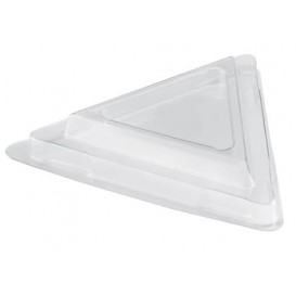 Tapa Bol Triangle Dessert Transparente PET 70 ml (1000 Uds)