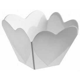 """Bol de Plástico """"Cupido"""" Blanco 68 ml (500 Uds)"""