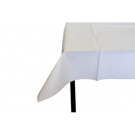 Mantel de Papel Cortado 1x1 Metro Blanco 40g (480 Uds)