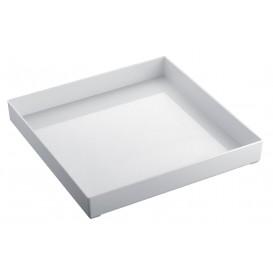 Bandeja Plastico Tray Blanca 30x30cm (1 Uds)