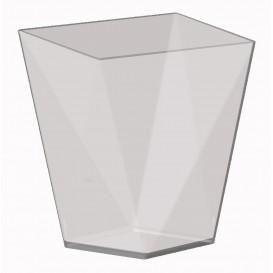 """Vaso de Degustacion """"Diamond"""" Transp. 100 ml (25 Uds)"""