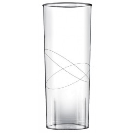 Vaso de Plastico Transparente PP 300ml (10 Uds)