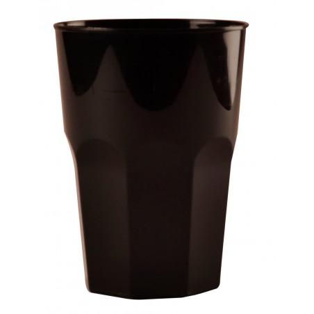 Vaso Plastico para Cocktail Negro PP Ø84mm 350ml (20 Uds)