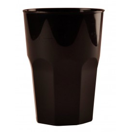 Vaso Plastico para Cocktail Negro PP Ø84mm 350ml (420 Uds)