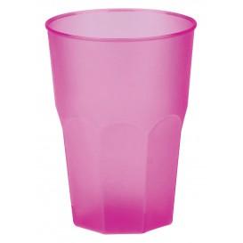 "Vaso de Plastico ""Frost"" Fucsia PP 350ml (20 Uds)"
