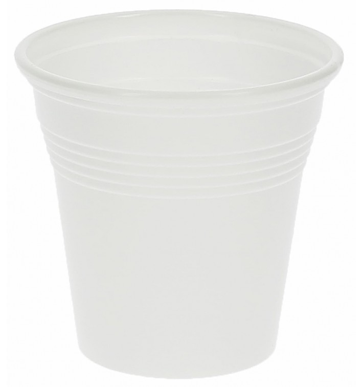 Vaso de Plastico PS Blanco 80 ml (50 Unidades)