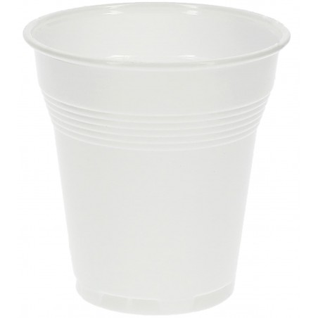 Vaso de Plastico PS Vending Blanco 160 ml (3.000 Unidades)