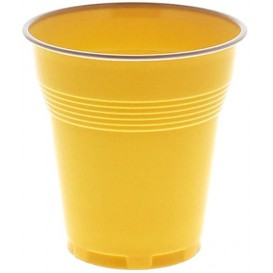 Vaso de Plastico PS Vending Crema 160 ml (3.000 Uds)
