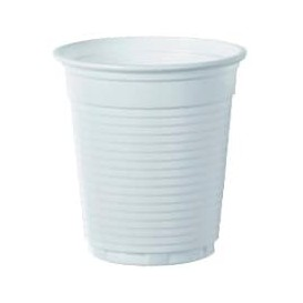 Vaso de Plastico PS Blanco 166ml Ø7,0cm (100 Uds)