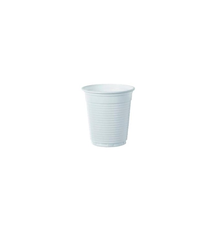 Vaso de Plastico PS Blanco 166ml Ø7,0cm (3000 Uds)