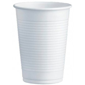 Vaso de Plastico PS Blanco 230ml Ø7,0cm (100 Uds)