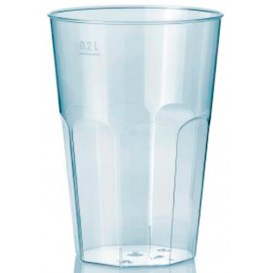 "Vaso ""Deco"" PS Transparente Cristal 200 ml (500 Unidades)"
