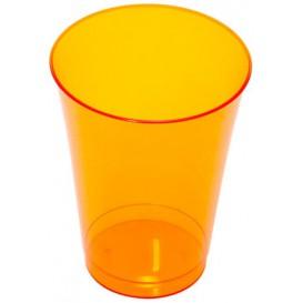 Vaso Inyectado Naranja 230 ml (10 Uds)