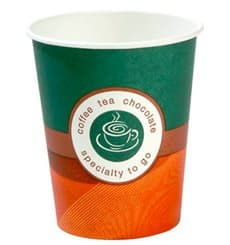 "Vaso Cartón 7Oz/210ml ""Specialty to go"" Ø7,3cm (80 Uds)"