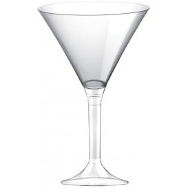 Copa Plastico Cocktail Pie Transparente 185ml 2P (20 Uds)