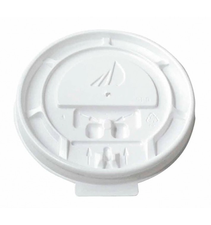 "Tapa Vaso Cartón 7 Oz/210ml ""Specialty"" Ø7,3cm (100 Uds)"