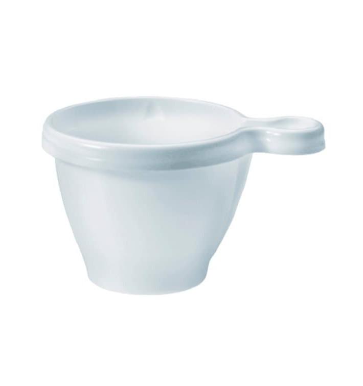 Taza de Plastico Blanco 80 ml (1100 Unidades)