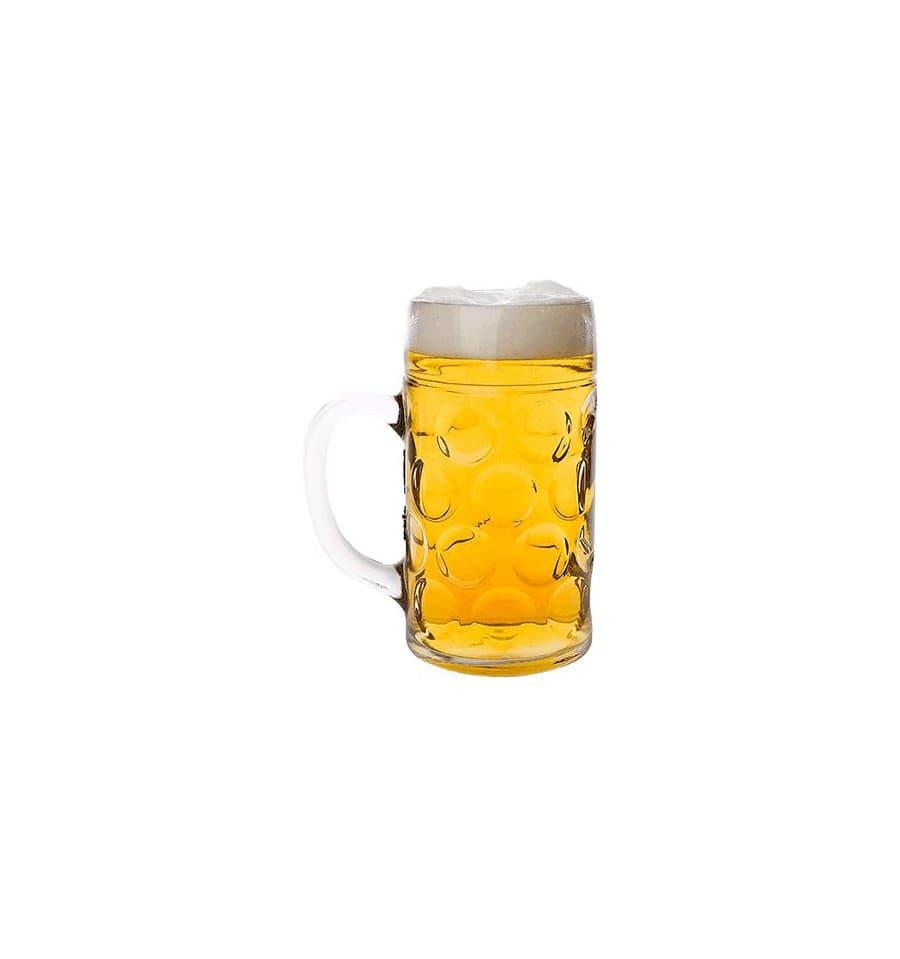 Jarra reutilizable san para cerveza 77mm 500ml 6 uds for Jarras para cerveza