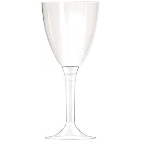 Copa de Plastico Vino Transparente 130ml (10Uds)