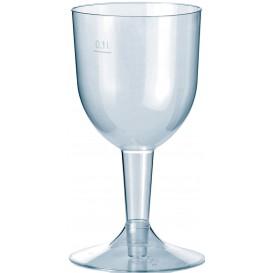 Copa de Plastico Premium Agua o Vino 140ml 2P (20 Uds)
