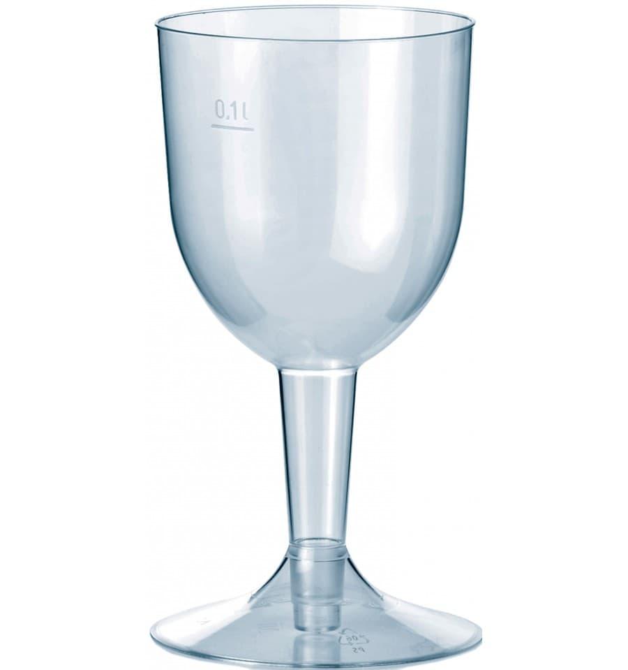 Copa de plastico premium agua o vino 140ml 2p 500 uds for Copa de agua
