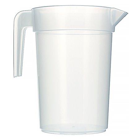 Jarra Inyectada Traslúcida PP 1.000 ml (6 Unidades)