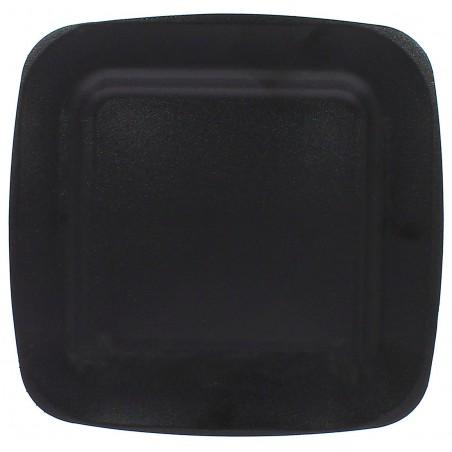 Plato Termico Foam Negro Laminado 260 mm (50 Uds)