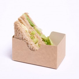 Envase para Sandwich Kraft (25 Uds)