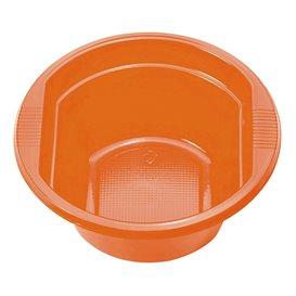 Bol de Plastico PS Naranja 250ml (30 Uds)