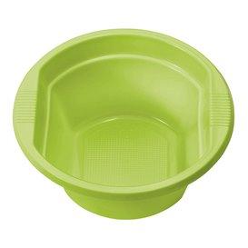 Bol de Plástico PS Verde Lima 250ml Ø12cm (660 Uds)