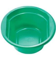 Bol de Plastico PS Verde 250ml Ø12cm (660 Uds)