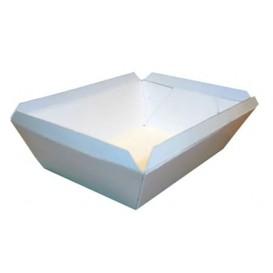 Barqueta 250ml Blanca 9,6x6,5x4,2cm (25 Uds)