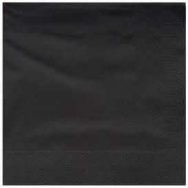Servilleta de Papel Cenefa 25x25cm Negra (3400 Uds)